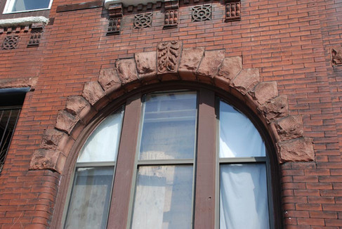 Terra Cotta Arched Window