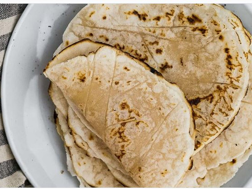 Cassava Grain Free Tortillas