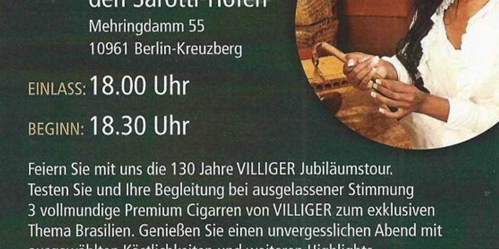 "Brasilianisches Zigarrendinner ""Villiger 130. Jubiläumstour"""