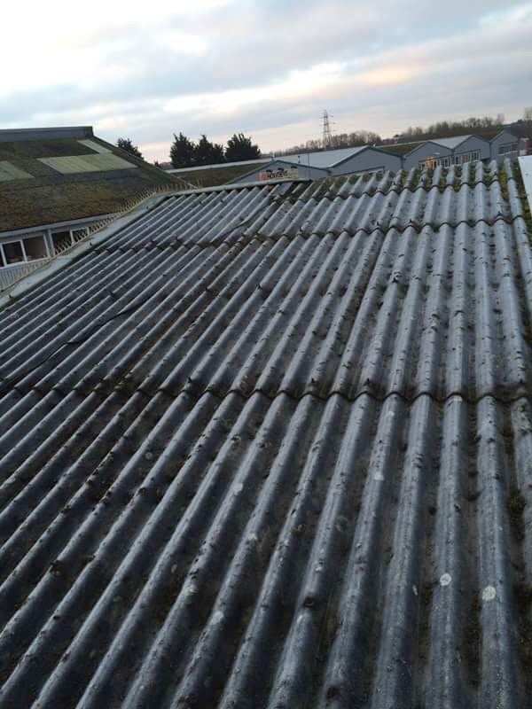 Corrugated Roof Cleaning Bromley