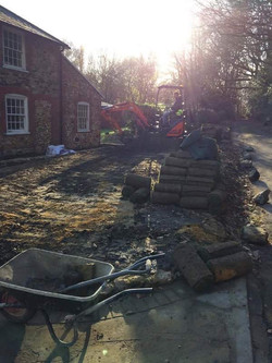 Turf laying in Sevenoaks, Kent