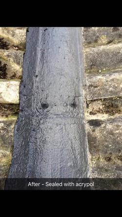 Acropol sealed guttering West Kent