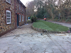Finished Front Garden in Kent