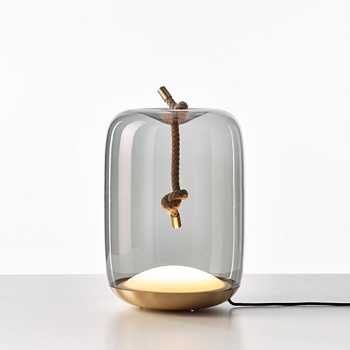 Glass LED Table Lamp