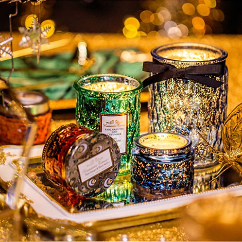 Scented Candles in Glass