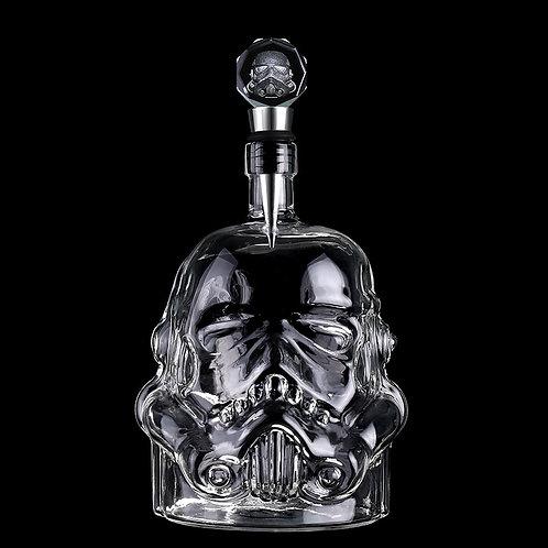 Storm Trooper Helmet Whiskey Set