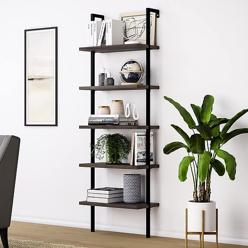 5-Tier Modern Ladder Shelf