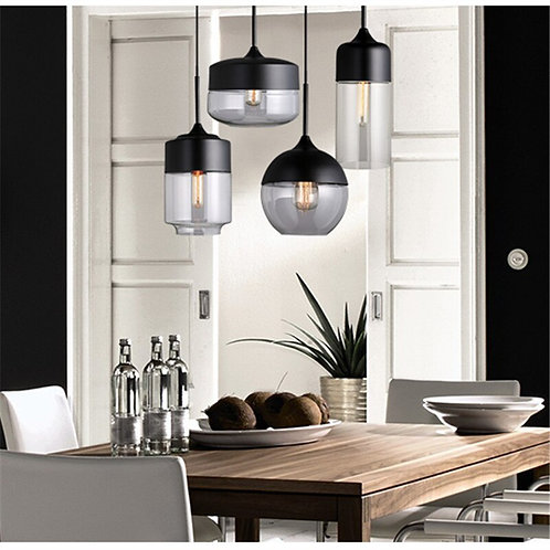 Hanging Glass LED Pendant Lamp