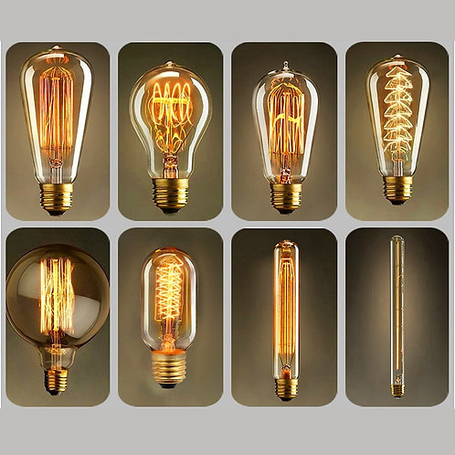 Dimmable Edison Light Bulbs