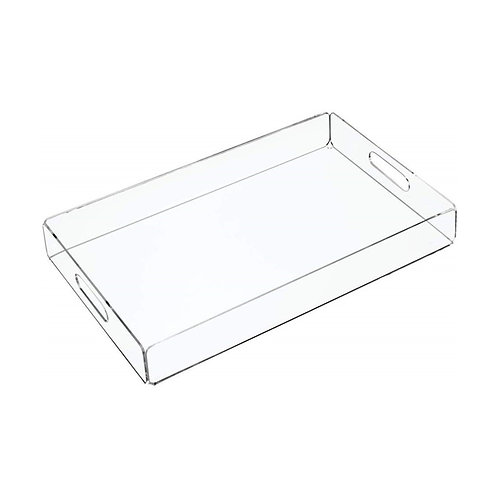 Clear Acrylic Storage Tray