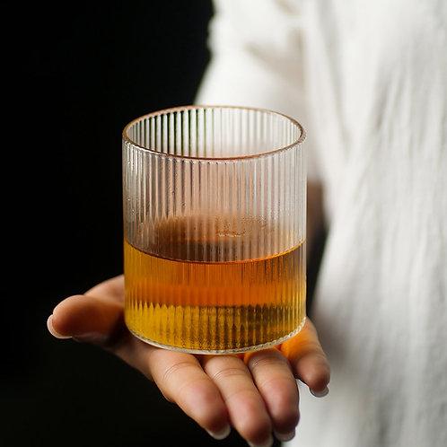 Ripple Whisky Glasses - Set of 4