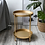 Thumbnail: Simple Iron Double-Layer Accent Table