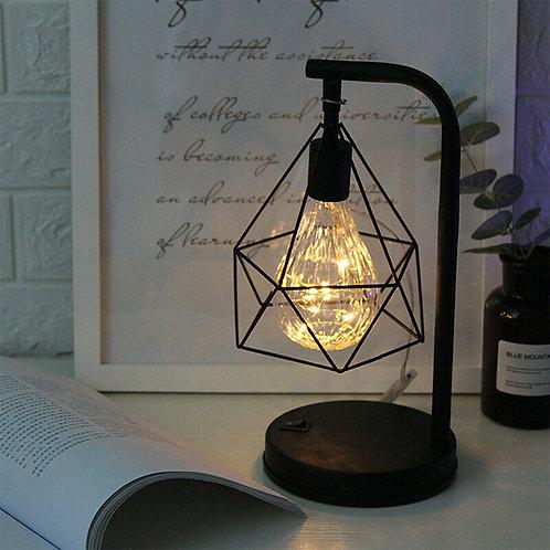 Diamond Shape LED Desk Lamp