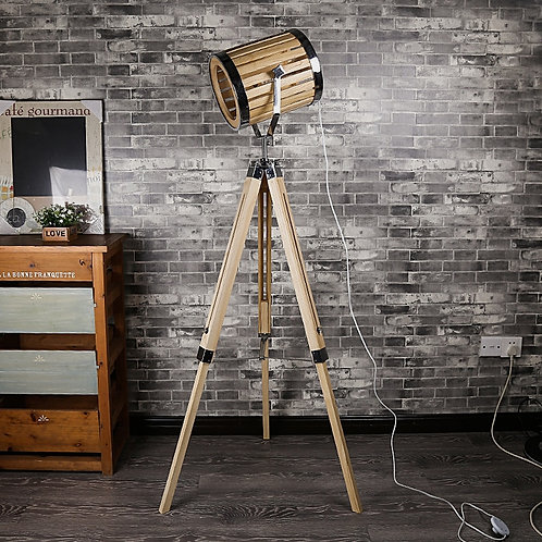 American Country Retro LOFT Floor Lamp