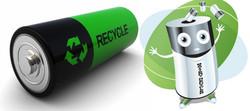Утилізація батарей та акумуляторів