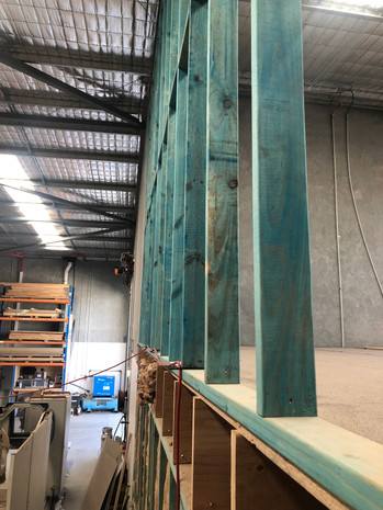 Timber Stud Partition Wall