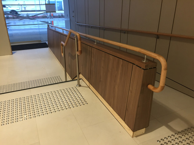 Feature Timber Veneer Panelling