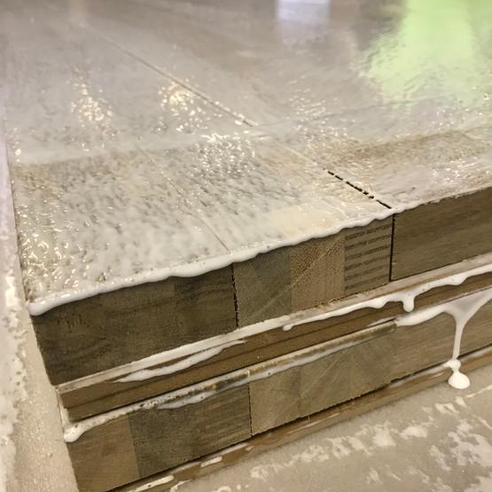 Blockboard-core Door Construction