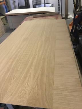Timber Veneer Door Construction