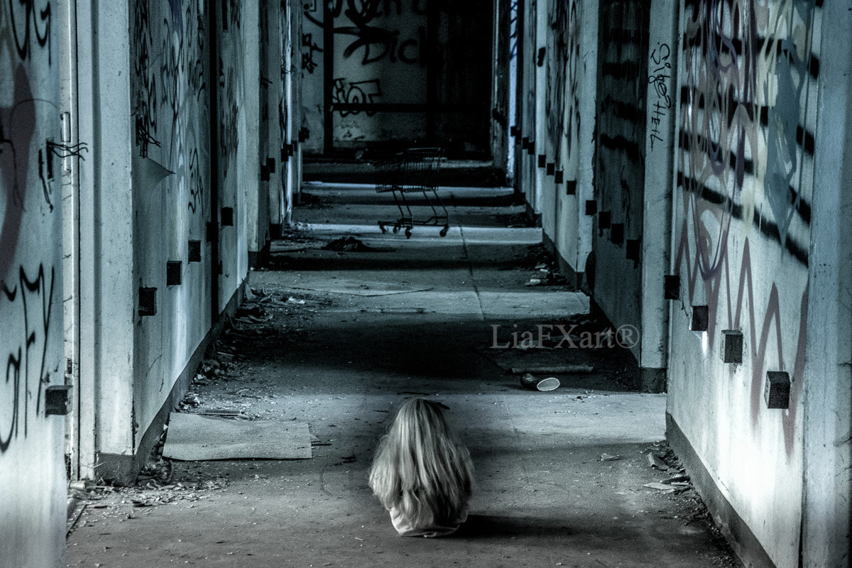 Abandoned place, abandoned soul