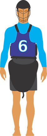 Jugador Kayak Polo