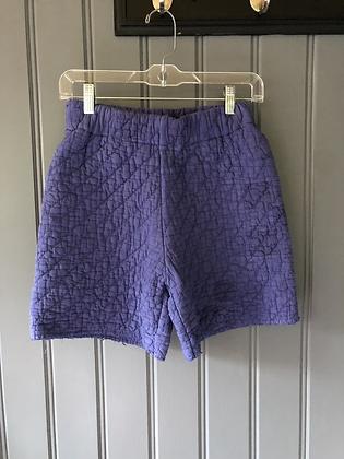 One-of-a-kind: Indigo Dyed 'Irish Chain' Shorts (XS)