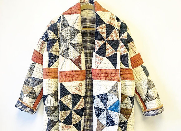 Supply Your Own Quilt - Shawl Coat