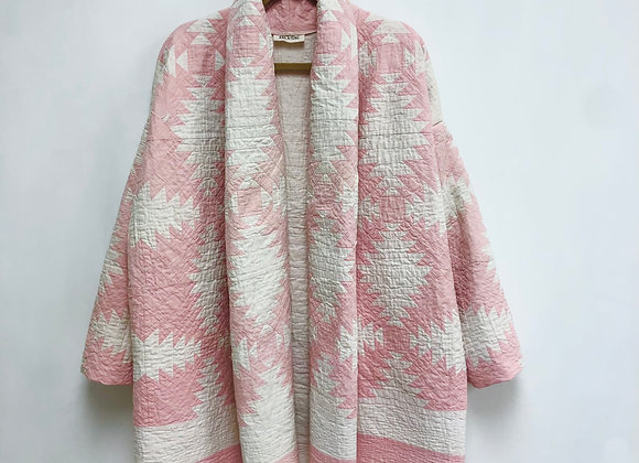 One-of-a-kind: Pineapple Shawl Coat
