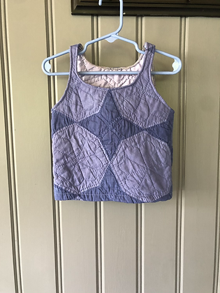 One-of-a-kind: Overdyed 'Arkansas Star' Baby Tank
