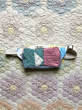 One-of-a-kind: Flying Geese Snack Pocket