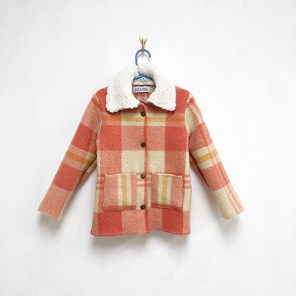 One-of-a-kind: Kiddo Plaid Wool Coat (5T)