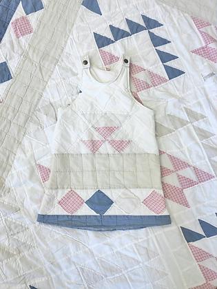 One-of-a-kind: Kiddo Basket Pinafore Dress (4T)