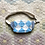 Thumbnail: One-of-a-kind: Blue Diamond Snack Pocket #2