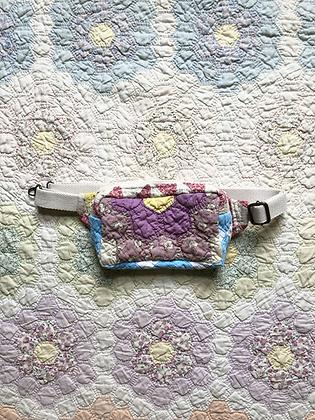 One-of-a-kind: Grandmother's Flower Garden Snack Pocket