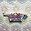 Thumbnail: One-of-a-kind: Grandmother's Flower Garden Snack Pocket