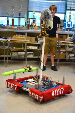 Robotics Team Robot