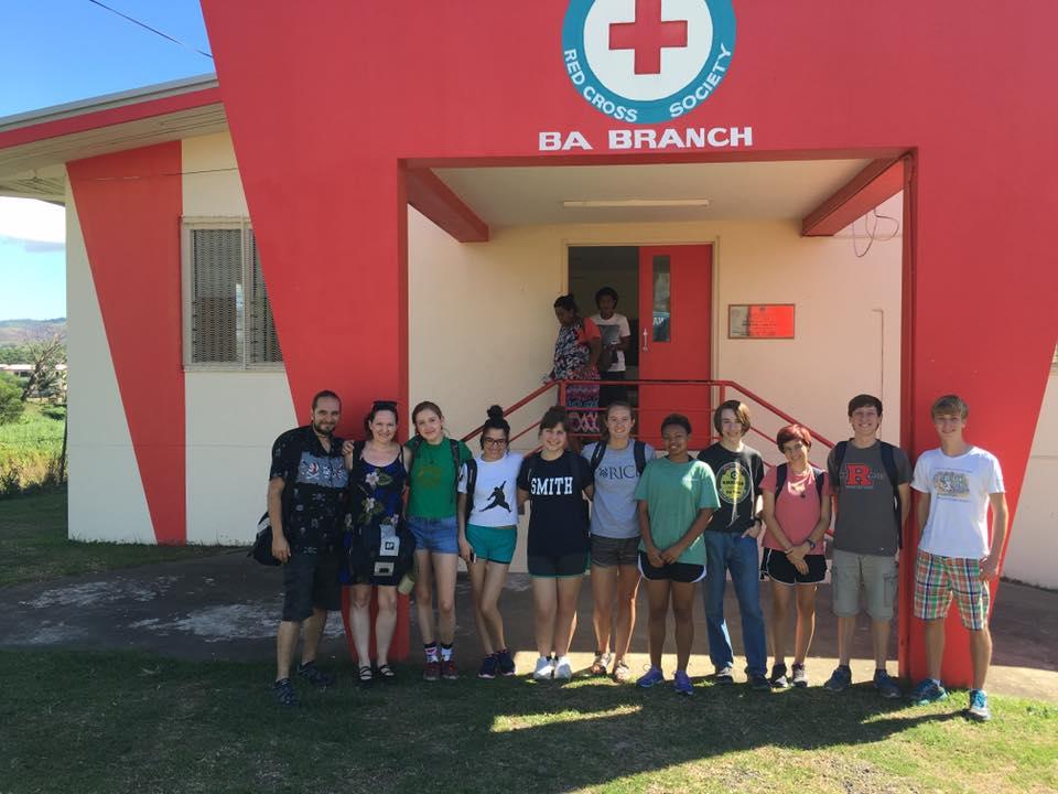 Students Volunteer at Fiji Red Cross