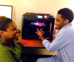 3D Printer at work