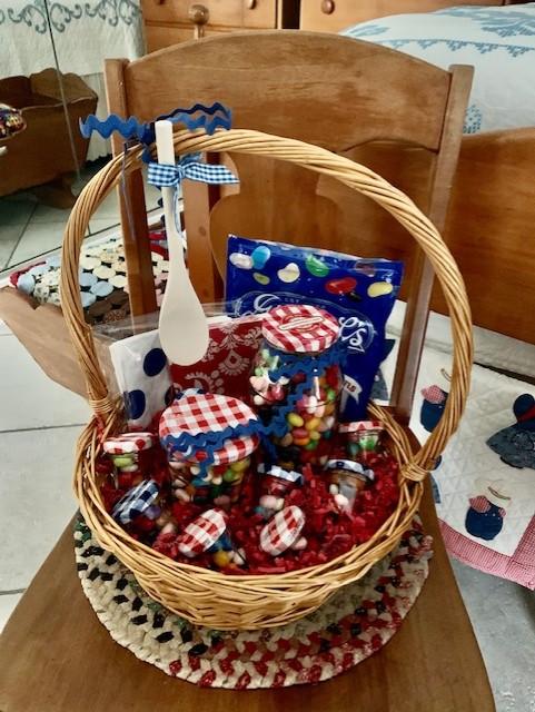 Gimballs Candy Basket