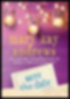Book Cover Save the Date