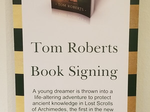 Book signing for Lost Scrolls of Archimedes