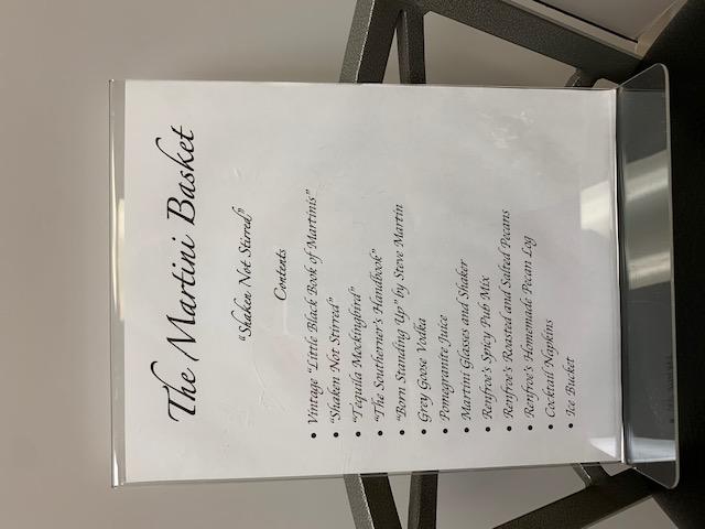 Martini Basket List