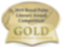 Image of Gold Award from the 2019 Royal Palm Literary Awards