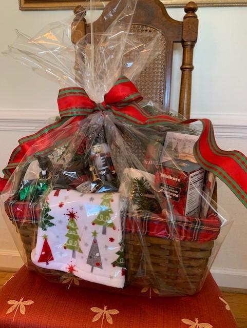 Christmas Around the House Basket