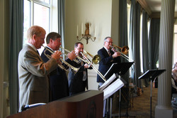 Symphony Horns at luncheon