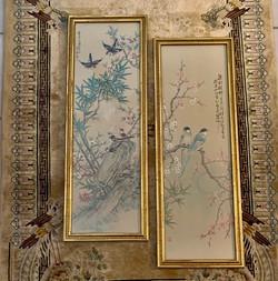 Silent Auction Oriental Birds