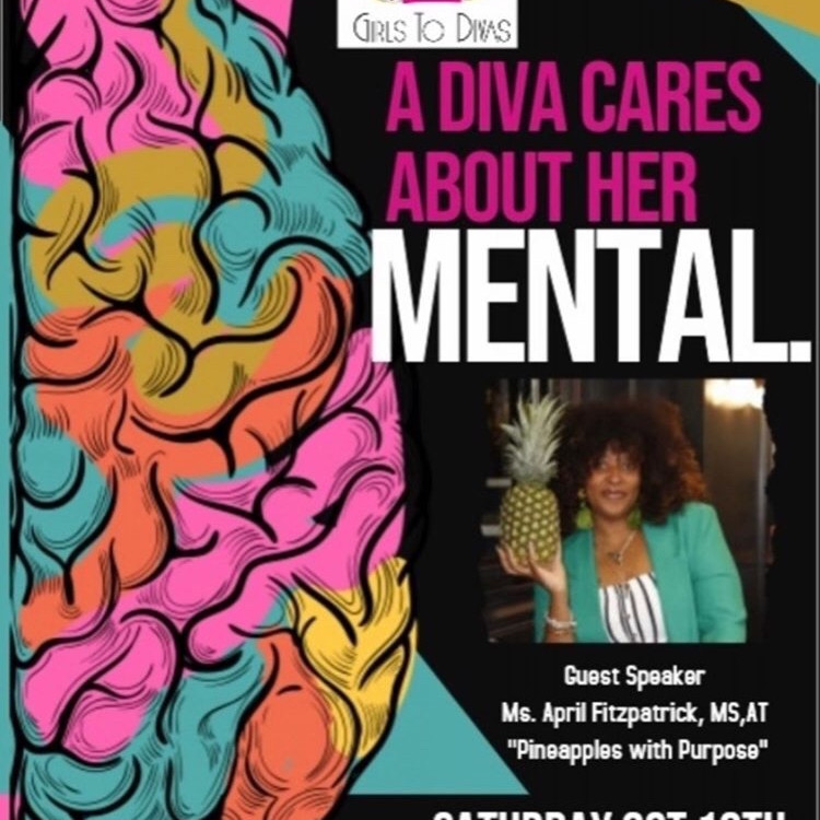 A Diva Cares About Her Mental