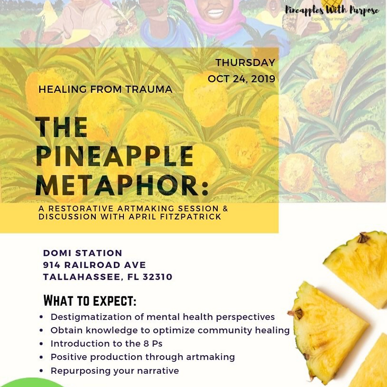 The Pineapple Metaphor: A Restorative Art-Making Session & Discussion with April Fitzpatrick