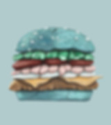 stone hamburger
