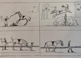 Horse Comic Strip